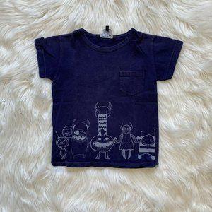 Little Marc Jacobs Boys Printed Tee Shirt Short Sl